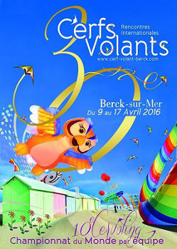 Rencontres Internationales de Cerfs-Volants de Berck sur Mer 2016